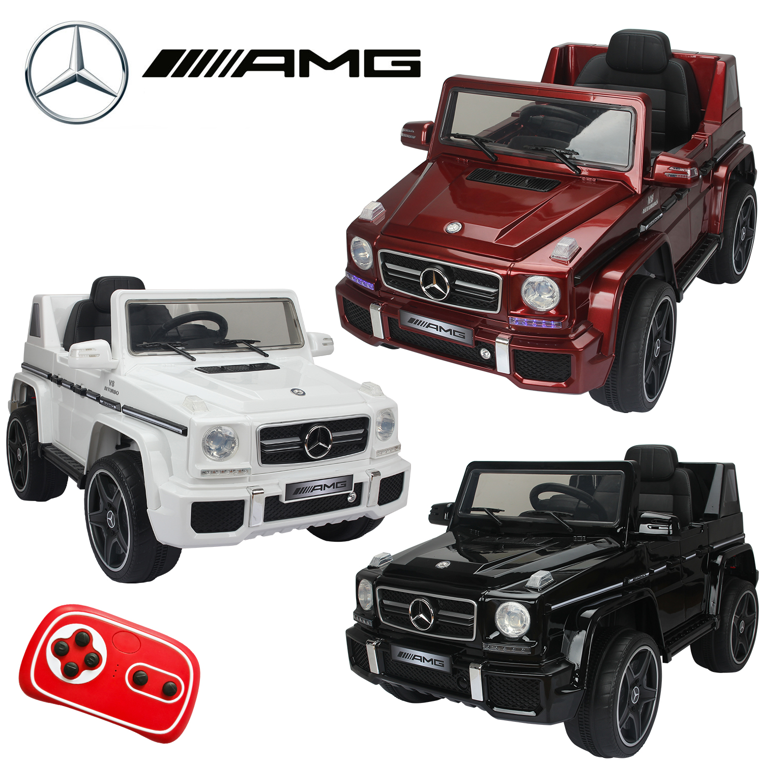 Details about MERCEDES BENZ G63 AMG 12V KIDS RIDE ON JEEP REMOTE CONTROL  CAR BIRTHDAY GIFT