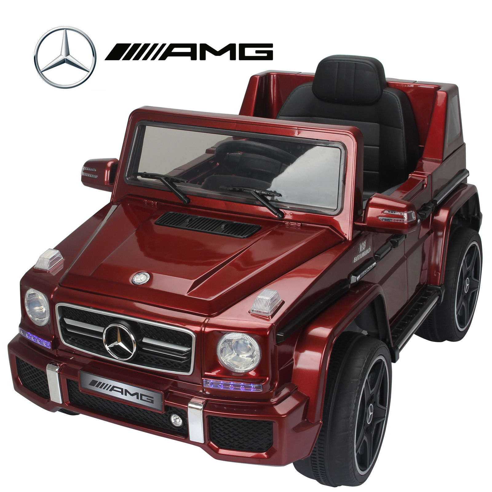 Mercedes Benz G63 Used: MERCEDES BENZ G63 AMG 12V KIDS RIDE ON JEEP REMOTE CONTROL