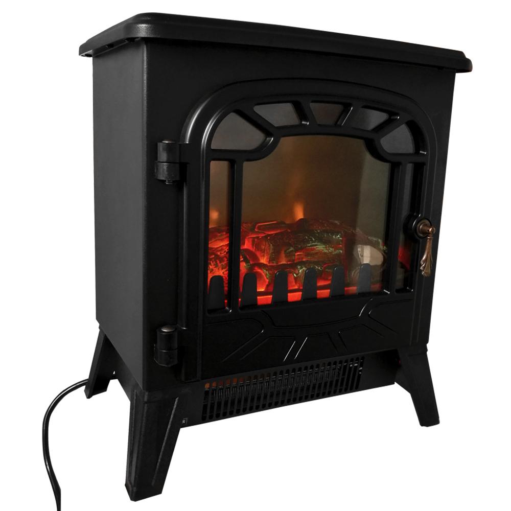 1850w Electric Fireplace Heater Fire Place Modern Log