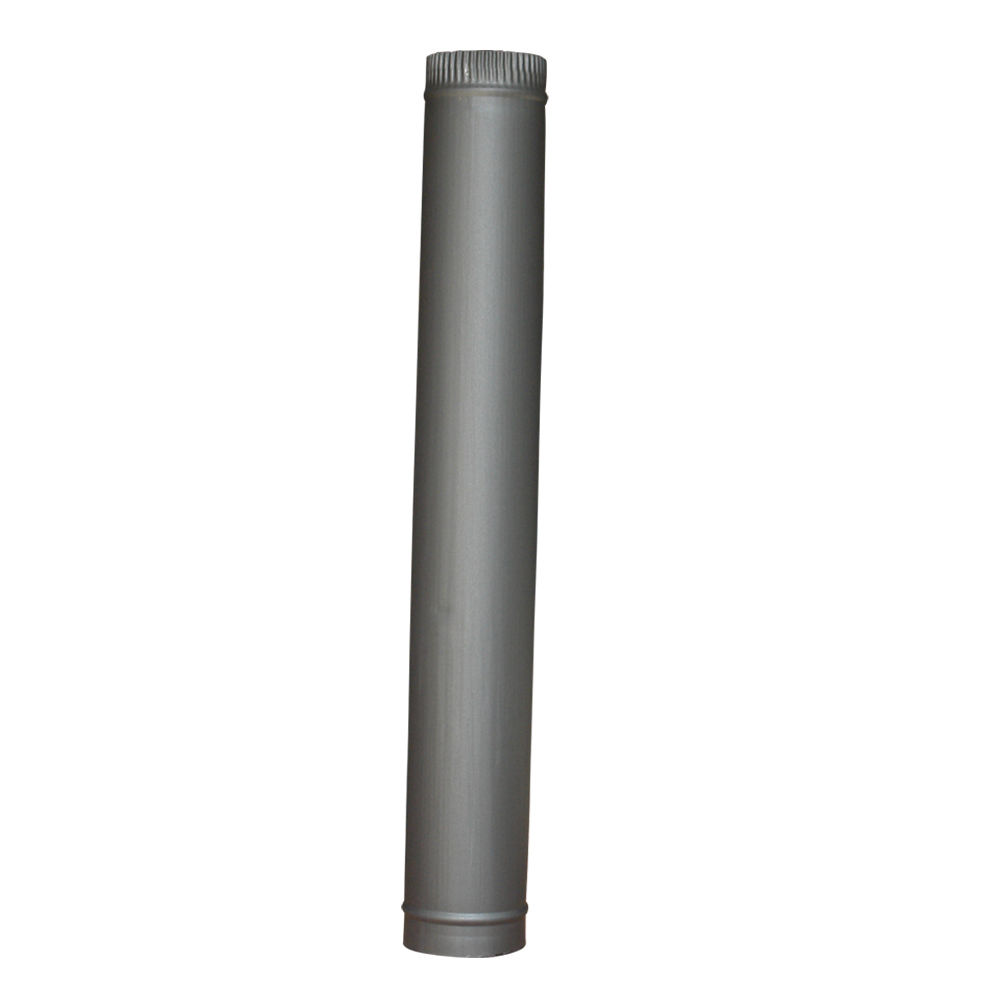 5 Quot 125mm 6 Quot 150mm Chimney Flue Pipe For Wood Log Burning