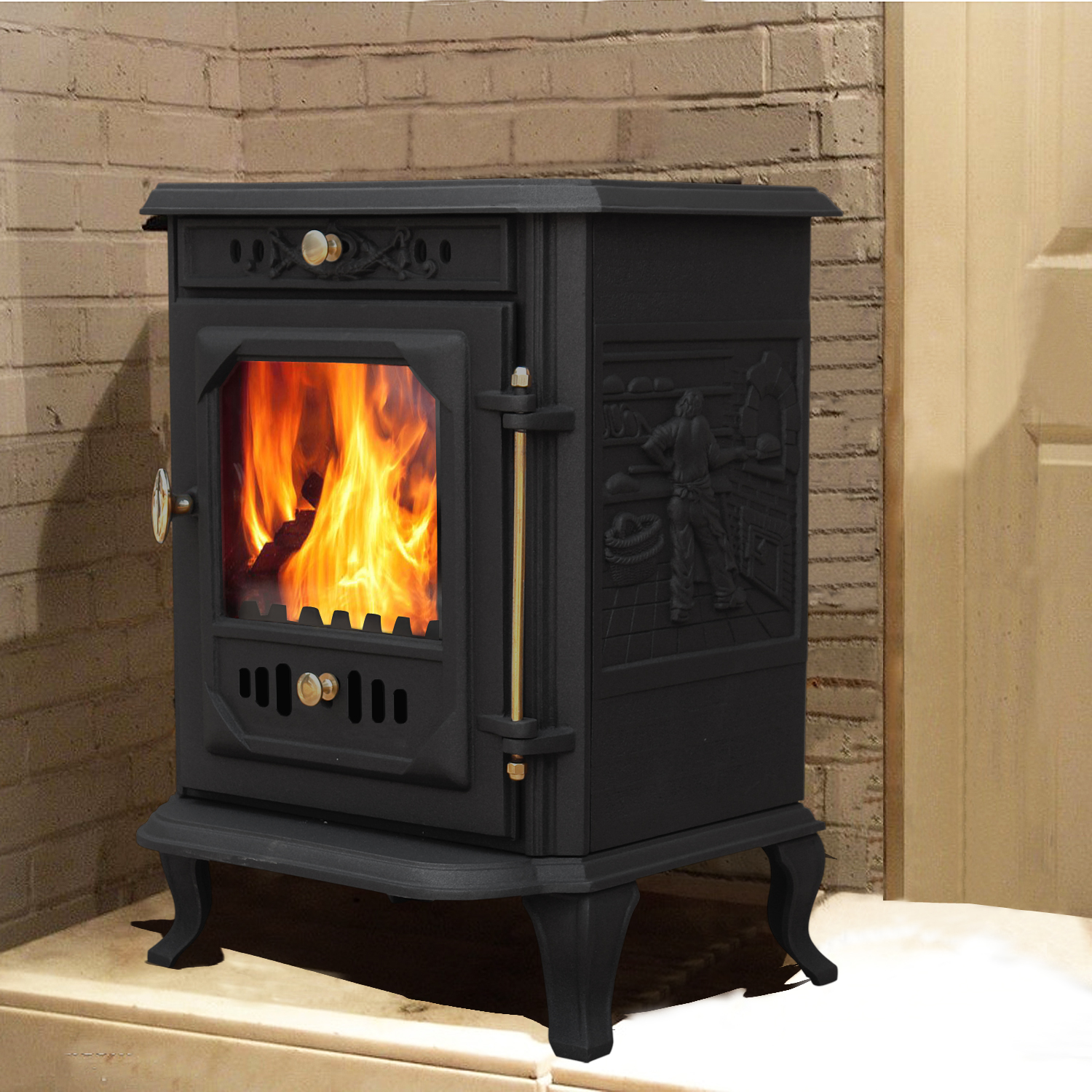 Luxury Waddington 7 5kw Woodburner Multifuel Stove Wood