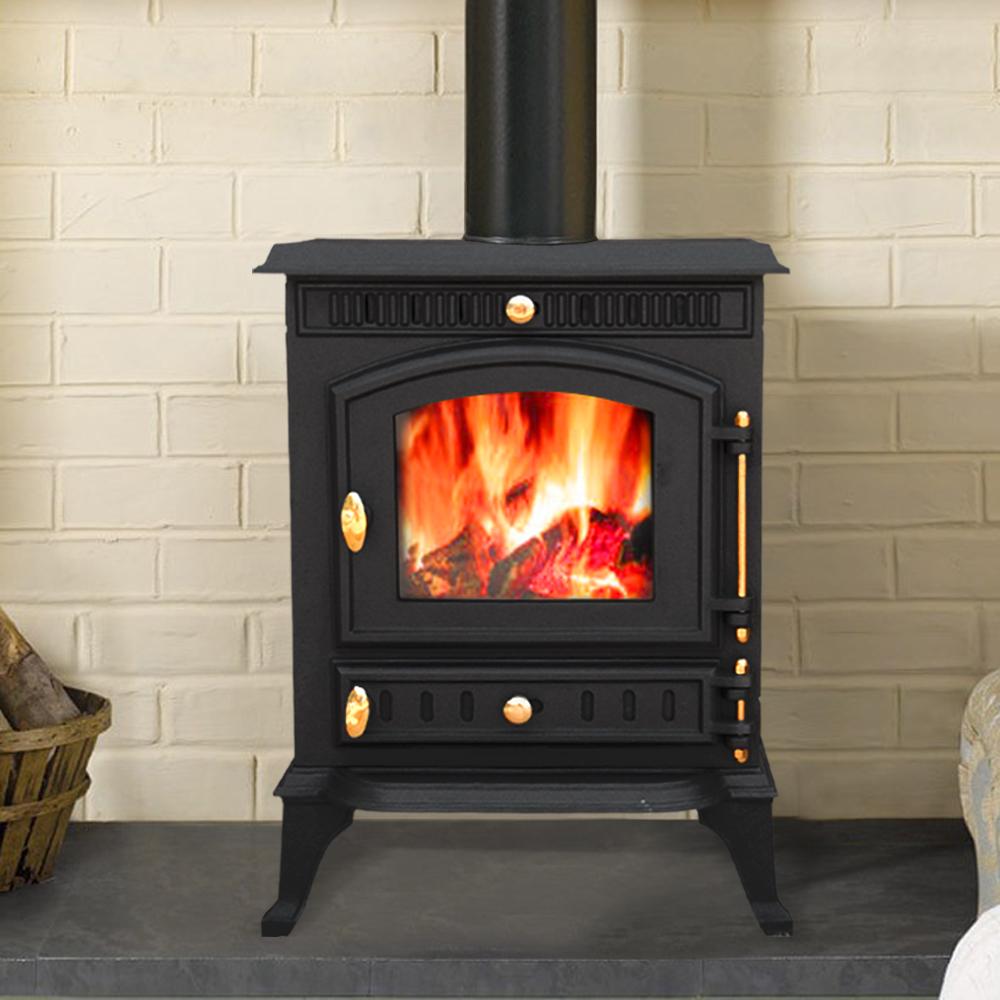 7 5kw Navenby Multifuel Woodburner Stove Wood Burning Burner Fire Cast
