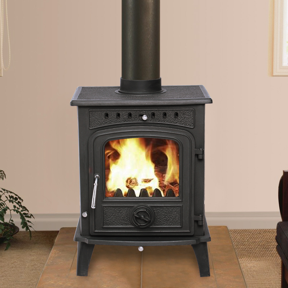Greetwell Multifuel Log Burning Cast Iron Woodburner