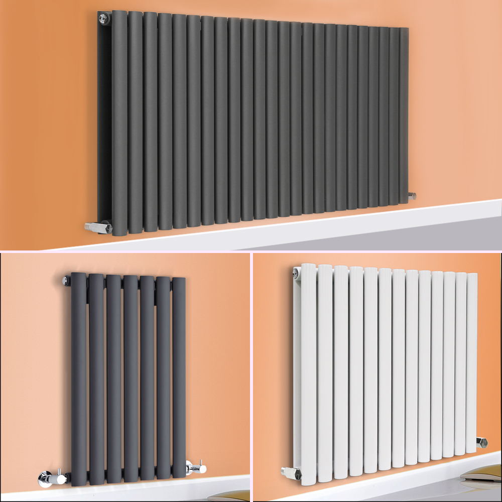 Horizontal Designer Radiator Oval Column Panel Rad Modern