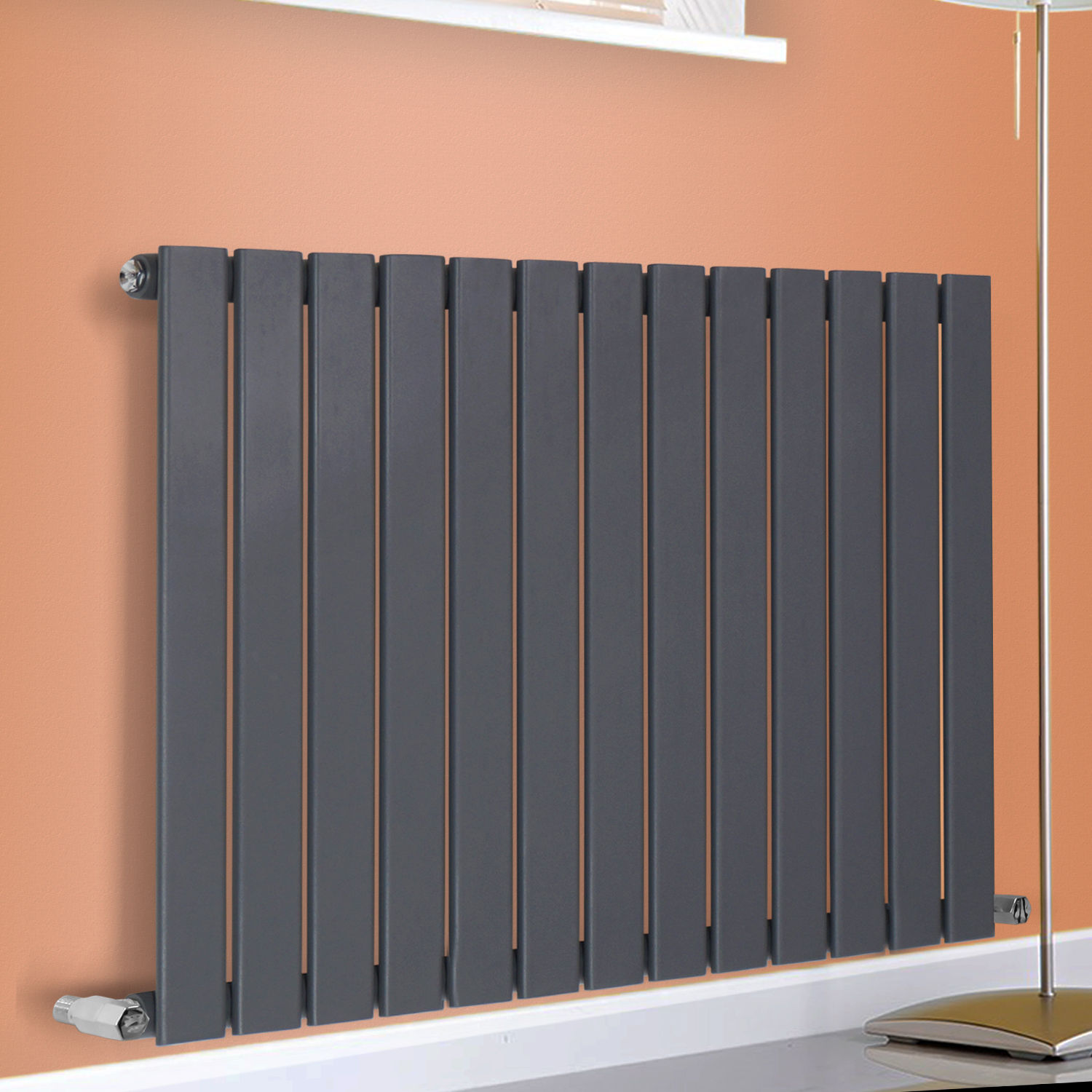 Horizontal Radiator Designer Flat Panel Column Bathroom