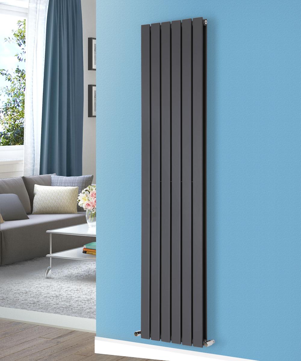 Vertical Flat Panel Column Designer Modern Double Radiator Central ...