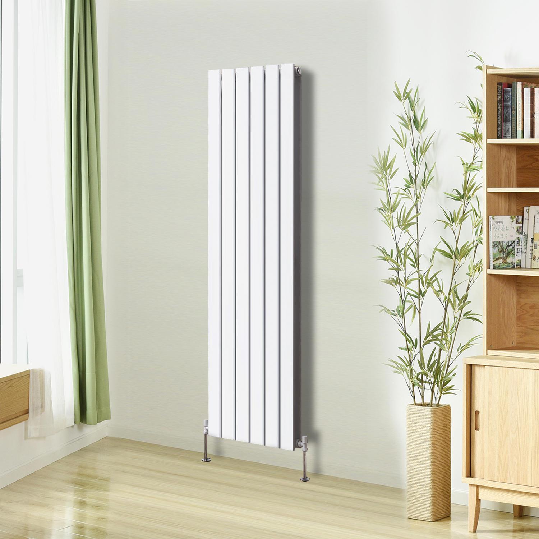 Flat Panel Column Designer Modern Bathroom Radiators Central Heating ...