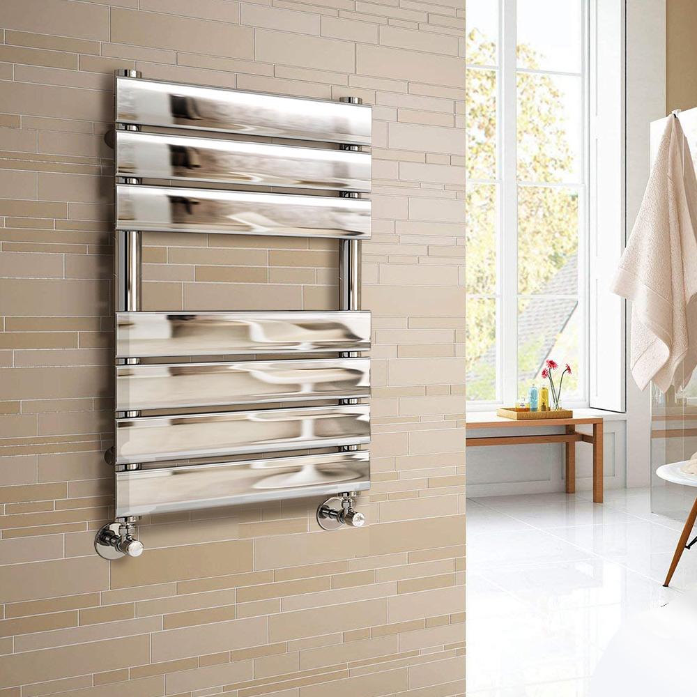 Heated Towel Rail Bathroom Radiator Designer Flat Panel: Designer Flat Panel Heated Towel Rail Bathroom Radiator UK