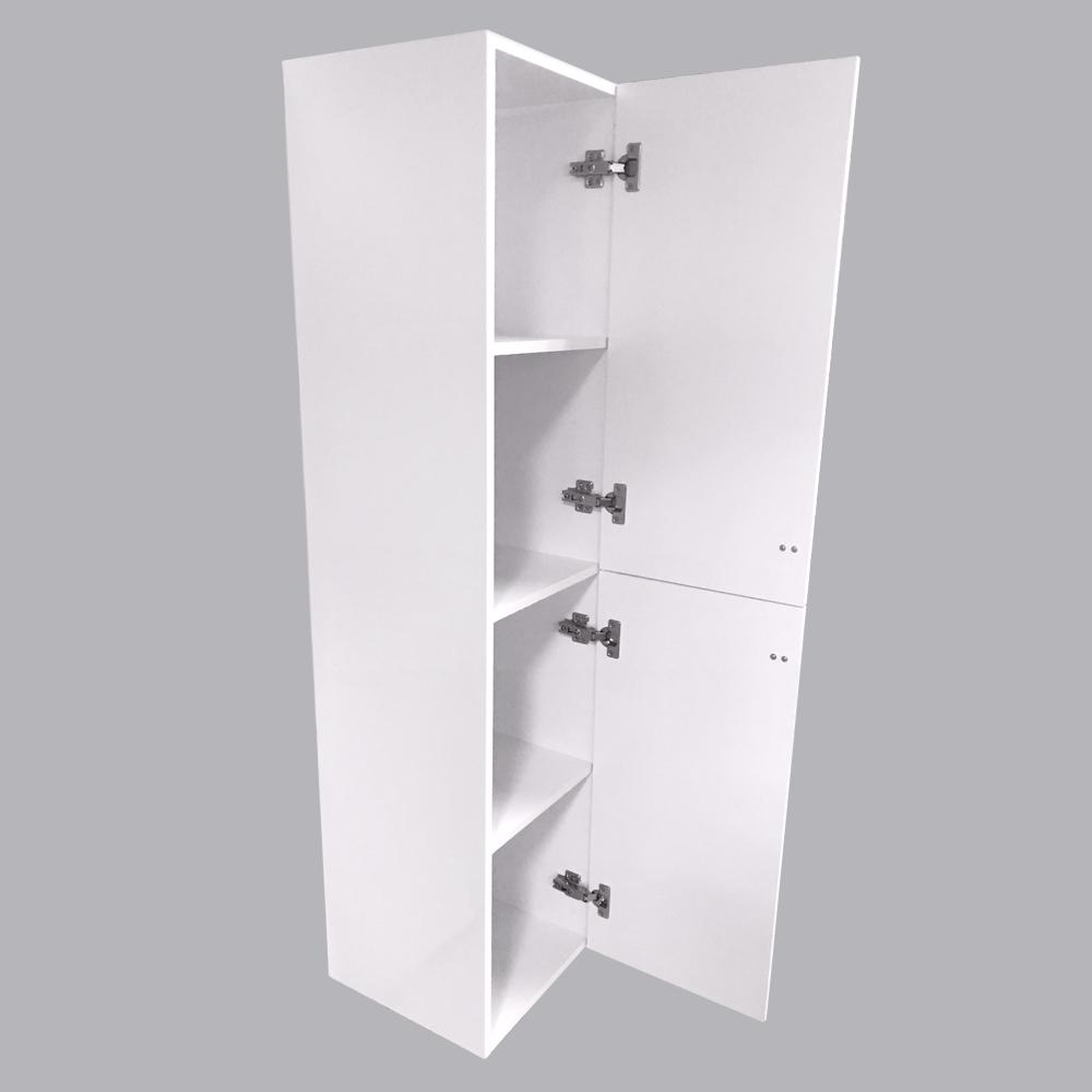 Bathroom-Basin-Vanity-Unit-Storage-Tall-Cabinet-WC-Toilet-Furniture-Gloss-White thumbnail 17
