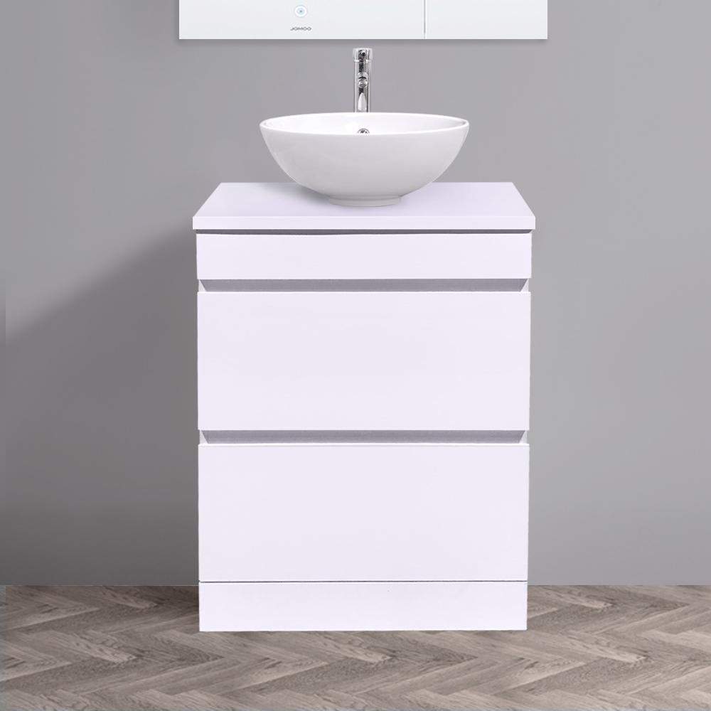 600mm Bathroom Vanity Unit Countertop Basin Cabinet 2 ...