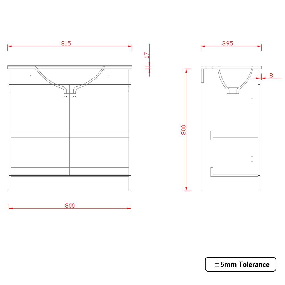 Bathroom-Basin-Vanity-Unit-Storage-Tall-Cabinet-WC-Toilet-Furniture-Gloss-White thumbnail 15