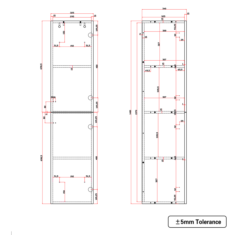 Bathroom-Basin-Vanity-Unit-Storage-Tall-Cabinet-WC-Toilet-Furniture-Gloss-White thumbnail 18