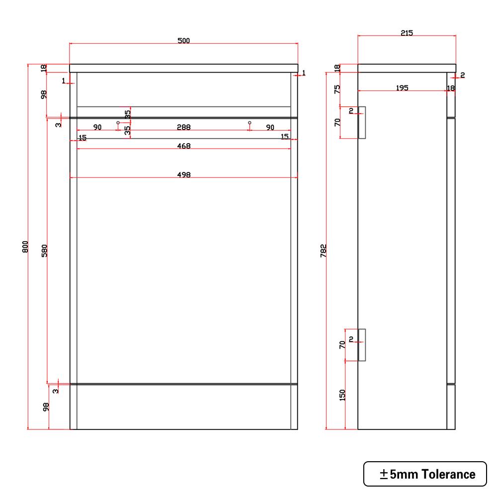 Bathroom-Basin-Vanity-Unit-Storage-Tall-Cabinet-WC-Toilet-Furniture-Gloss-White thumbnail 21