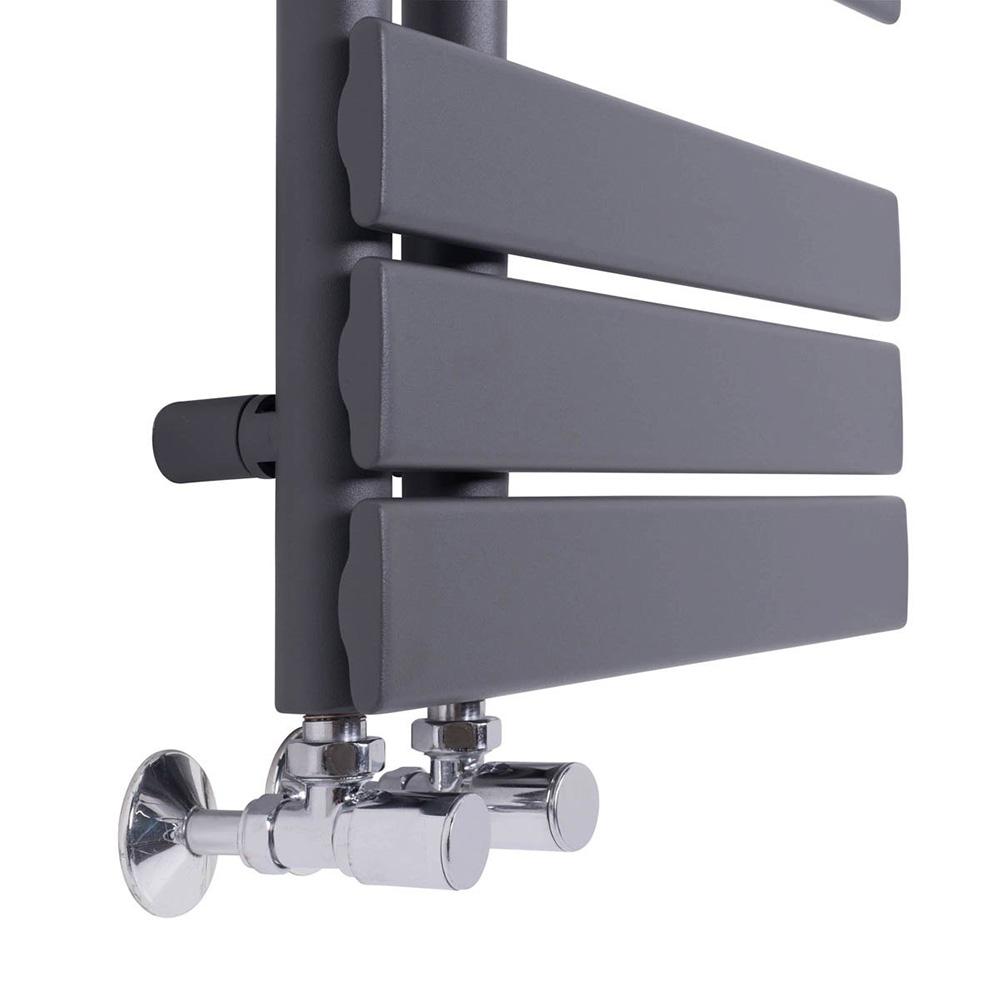 Modern Designer Flat Panel Heated Towel Rail Bathroom ...