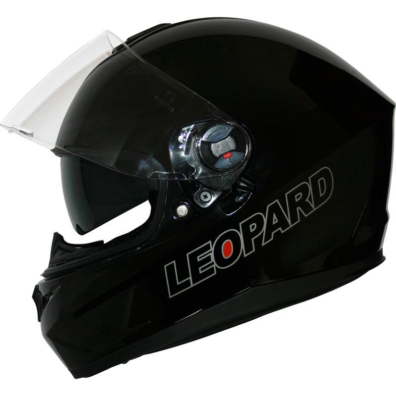 Graphic Blue XL 61-62cm Leopard LEO-608 Double Sun Visor Open Face Motorbike Motorcycle Helmet Road Legal