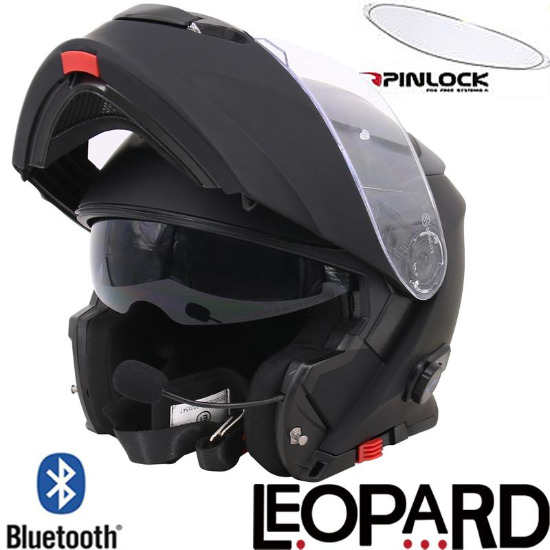 Leo727 Bluetooth Modular Flip Up Motorbike Helmet Motorcycle Full Face Helmet Ebay