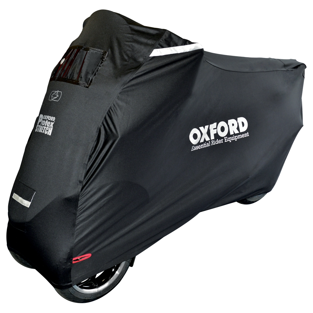 Oxford Protex Stretch Premium Outdoor Motorcycle Motorbike Cover XL CV163