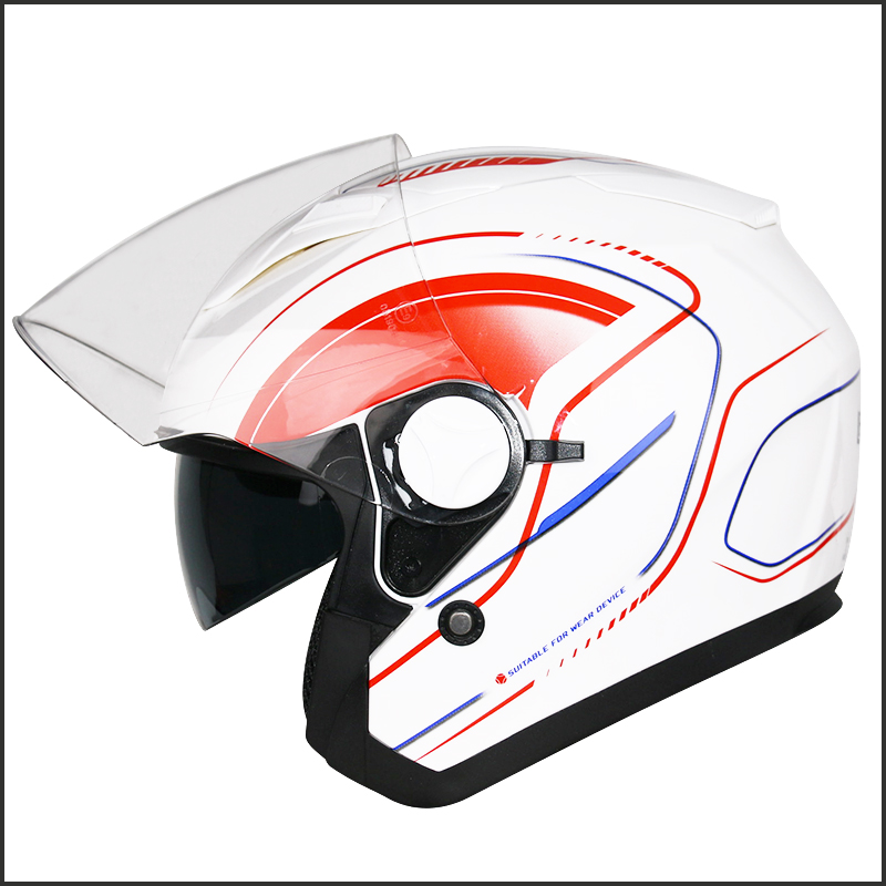 787702a3 LEOPARD LEO-612 Open Face Motorbike Helmet Italy Flag Scooter Crash  Motorcycle. Related Open Face DVS Helmet In Our Store: