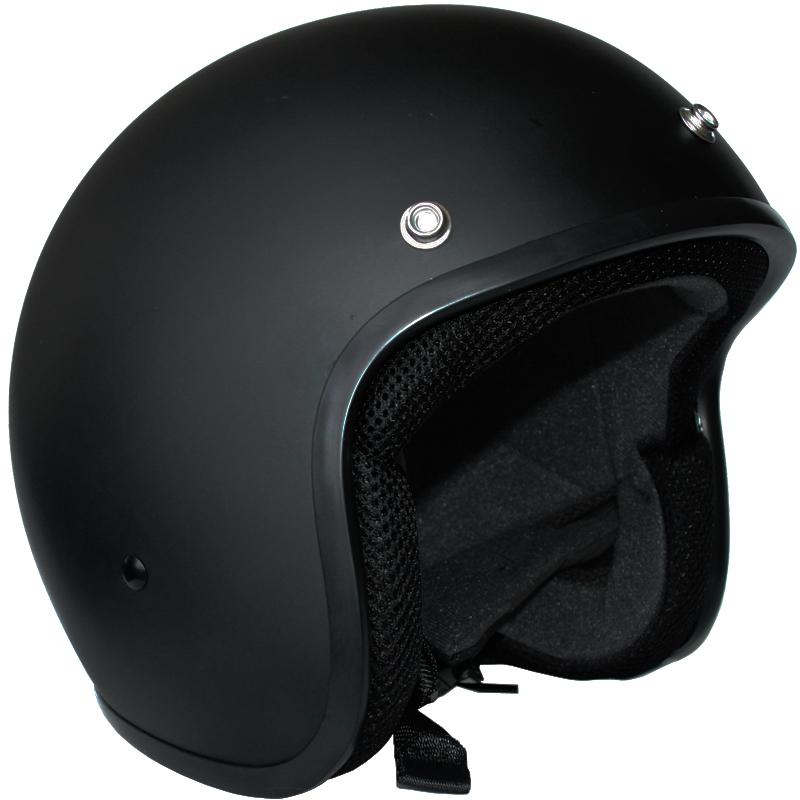 casco moto jet scooter retro mod omologato ece 22 05 negro. Black Bedroom Furniture Sets. Home Design Ideas