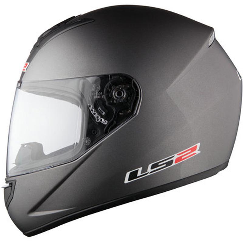 LS2-FF351-SINGLE-MONO-Casque-Moto-Casque-Integraux-Scooter-Crash-Blanc-Noir