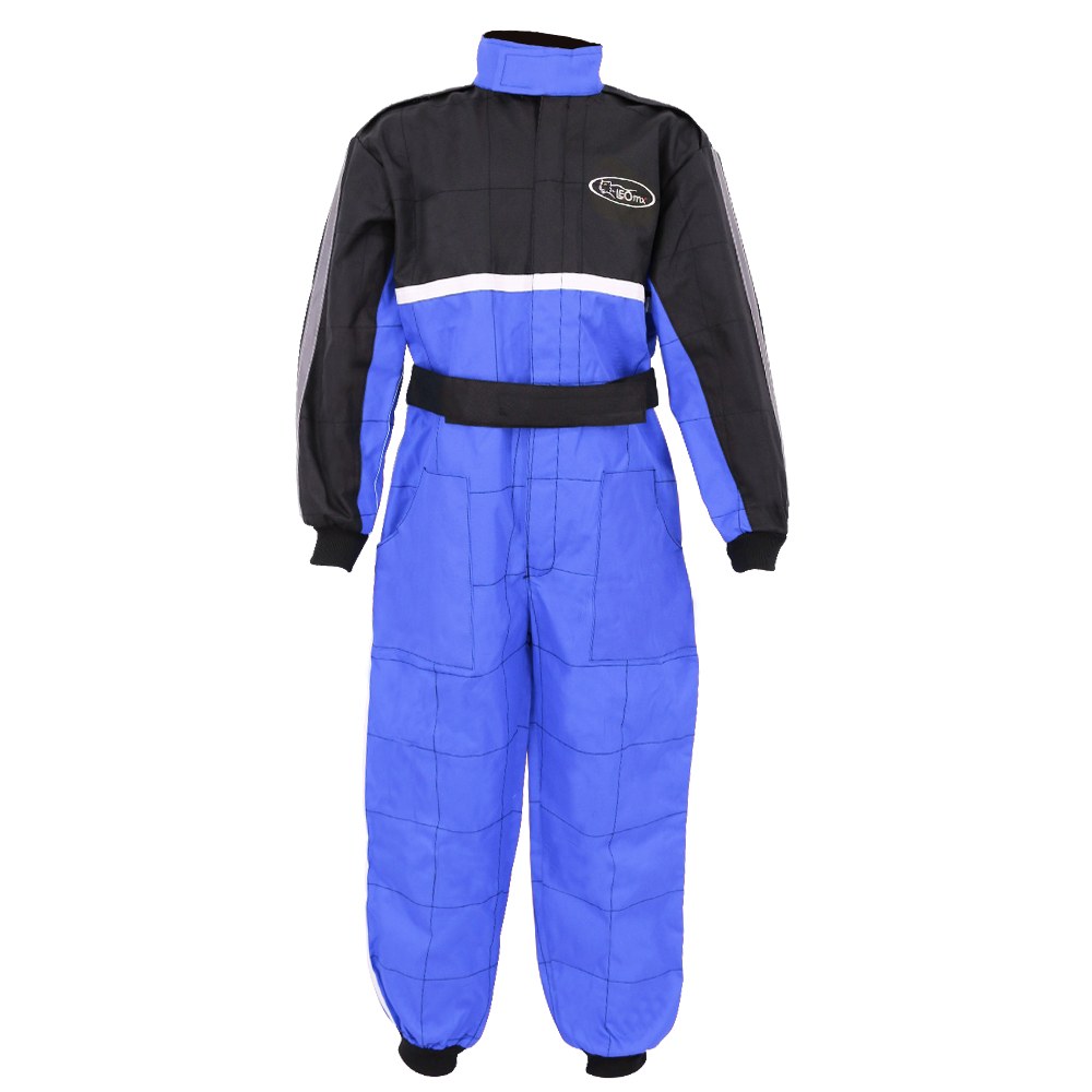 + Helmet /& Gloves L 11-12 Yrs 53-54cm Leopard Kids Children Motorbike Motocross Set { CAMO Suit XL + Goggles } Blue