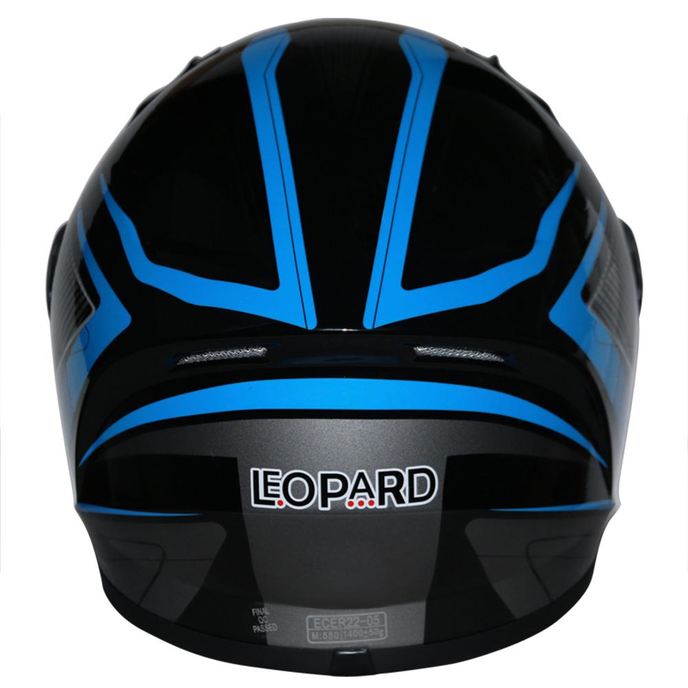LEOPAR-LEO-813-Casque-de-Moto-Casque-de-Integraux-Extra-Visiere-XS-XXL miniature 13