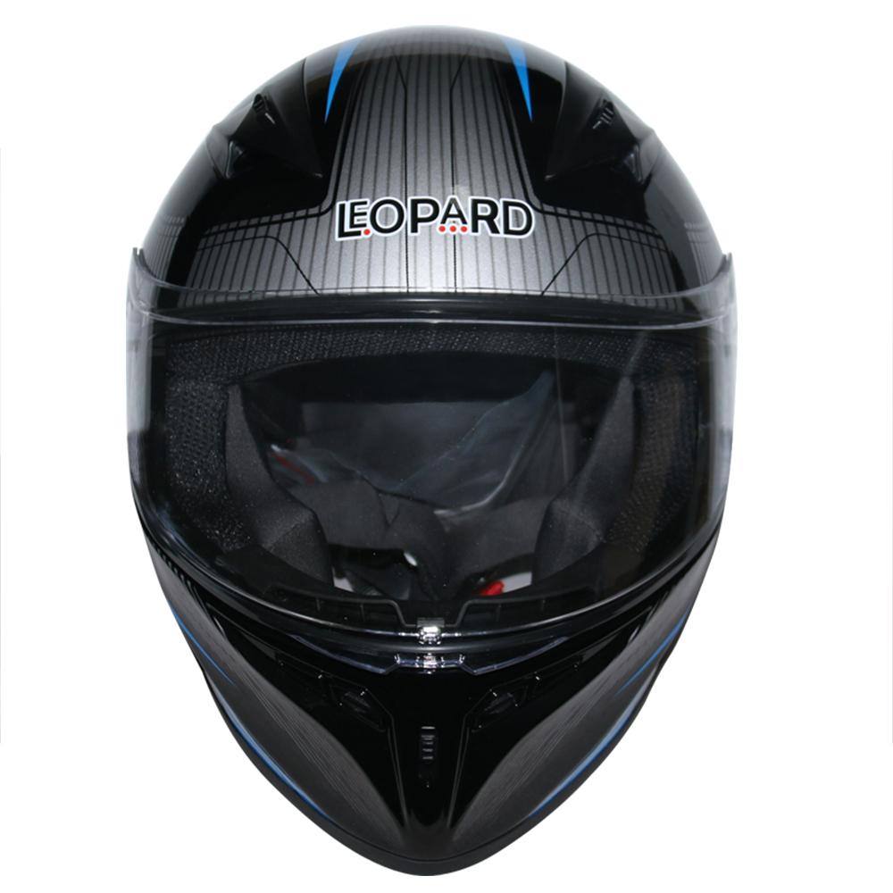 LEOPAR-LEO-813-Casque-de-Moto-Casque-de-Integraux-Extra-Visiere-XS-XXL miniature 14