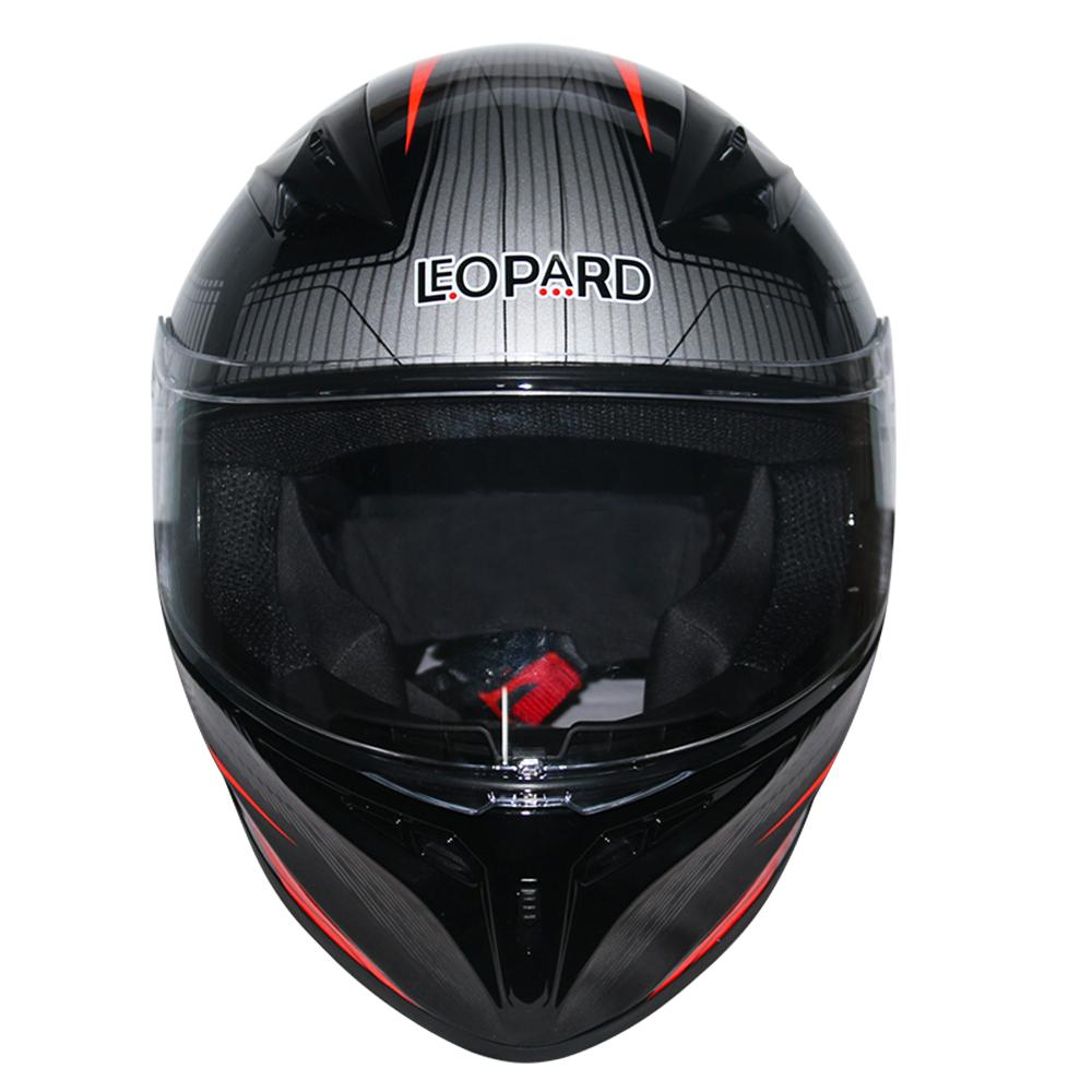 LEOPAR-LEO-813-Casque-de-Moto-Casque-de-Integraux-Extra-Visiere-XS-XXL miniature 18