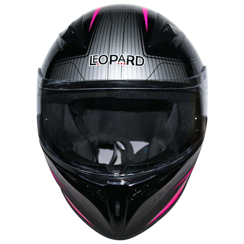 LEOPAR-LEO-813-Casque-de-Moto-Casque-de-Integraux-Extra-Visiere-XS-XXL miniature 30