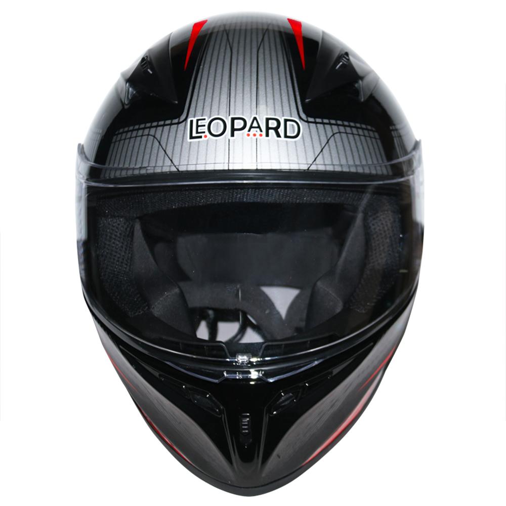 LEOPAR-LEO-813-Casque-de-Moto-Casque-de-Integraux-Extra-Visiere-XS-XXL miniature 9