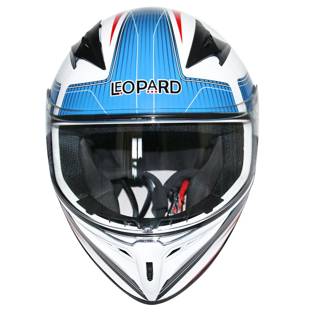 LEOPAR-LEO-813-Casque-de-Moto-Casque-de-Integraux-Extra-Visiere-XS-XXL miniature 39