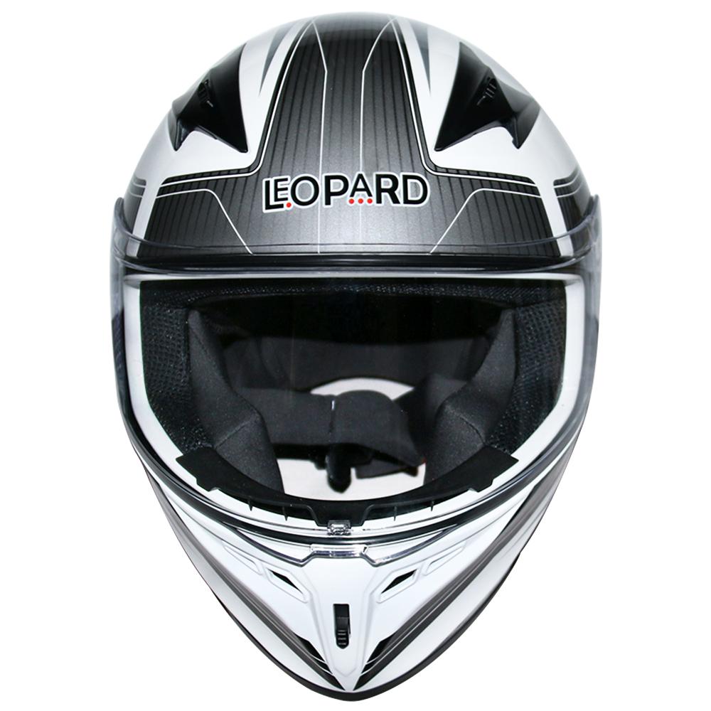 LEOPAR-LEO-813-Casque-de-Moto-Casque-de-Integraux-Extra-Visiere-XS-XXL miniature 35
