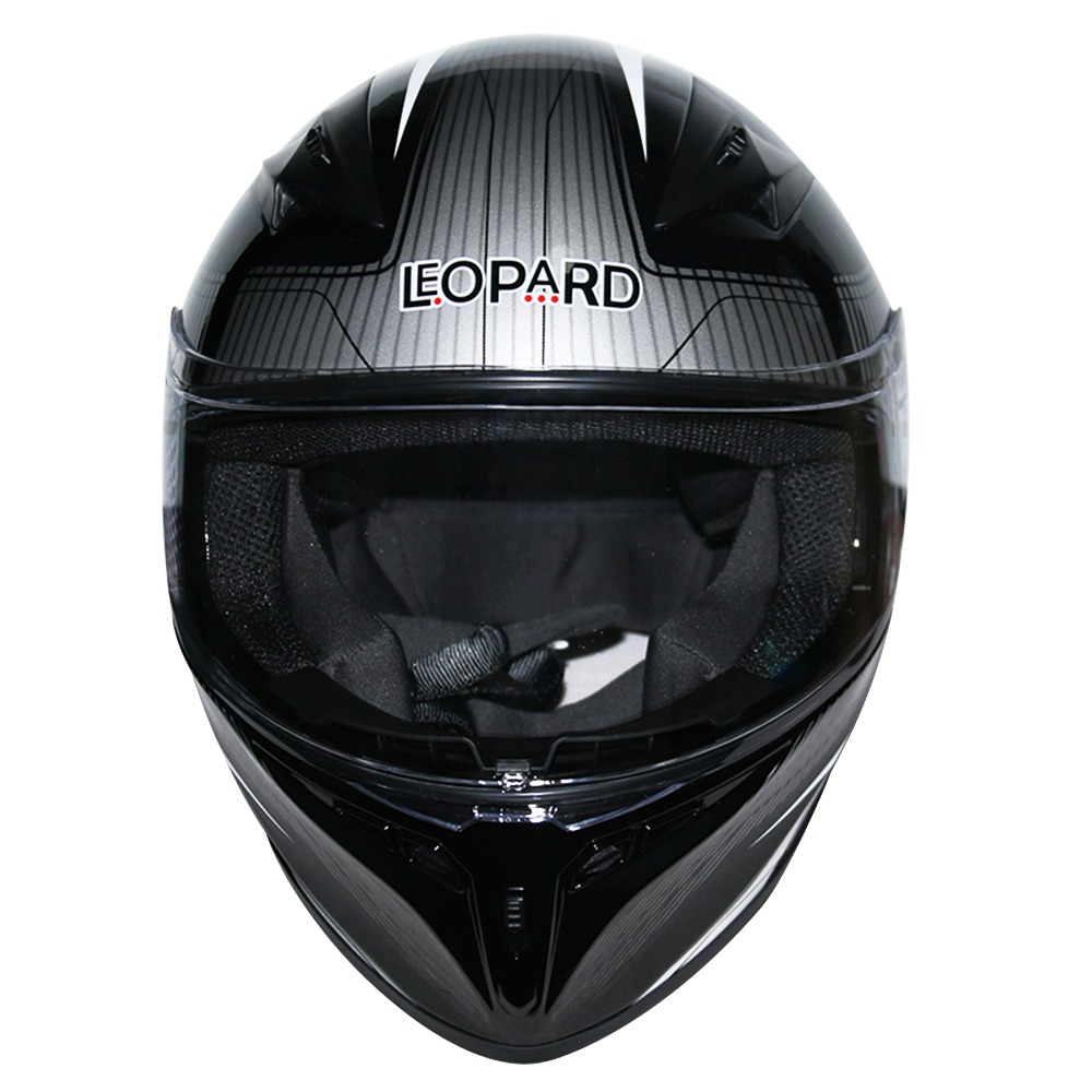 LEOPAR-LEO-813-Casque-de-Moto-Casque-de-Integraux-Extra-Visiere-XS-XXL miniature 6