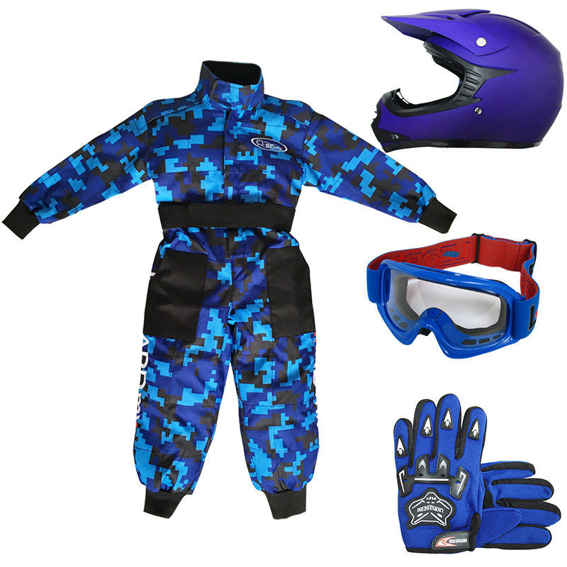leopard kinder motocross motorrad helm rennoverall. Black Bedroom Furniture Sets. Home Design Ideas
