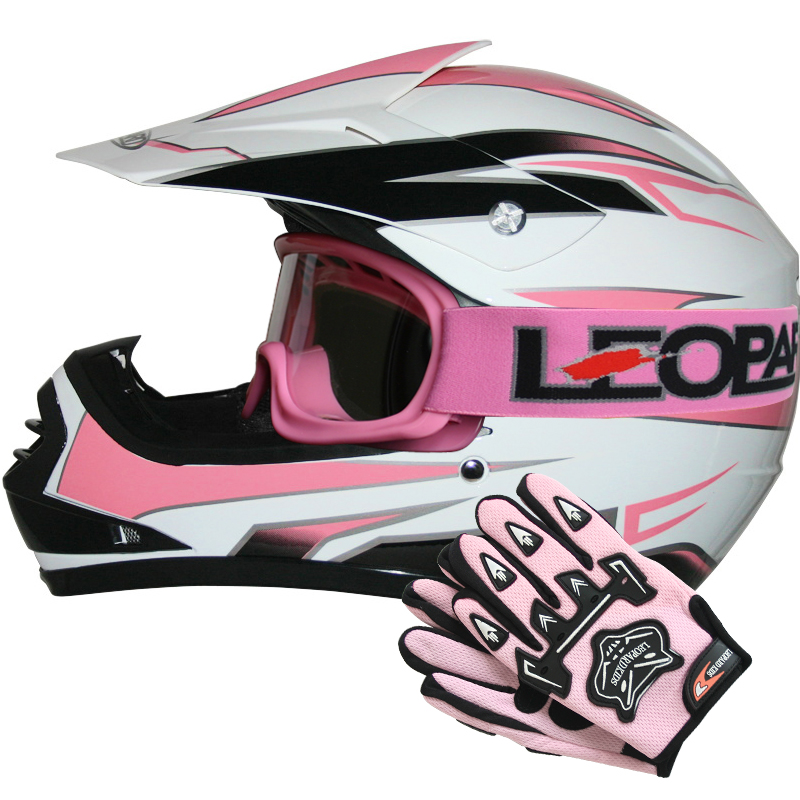 leopard leo x16 kinder motorradhelm moto cross helm. Black Bedroom Furniture Sets. Home Design Ideas