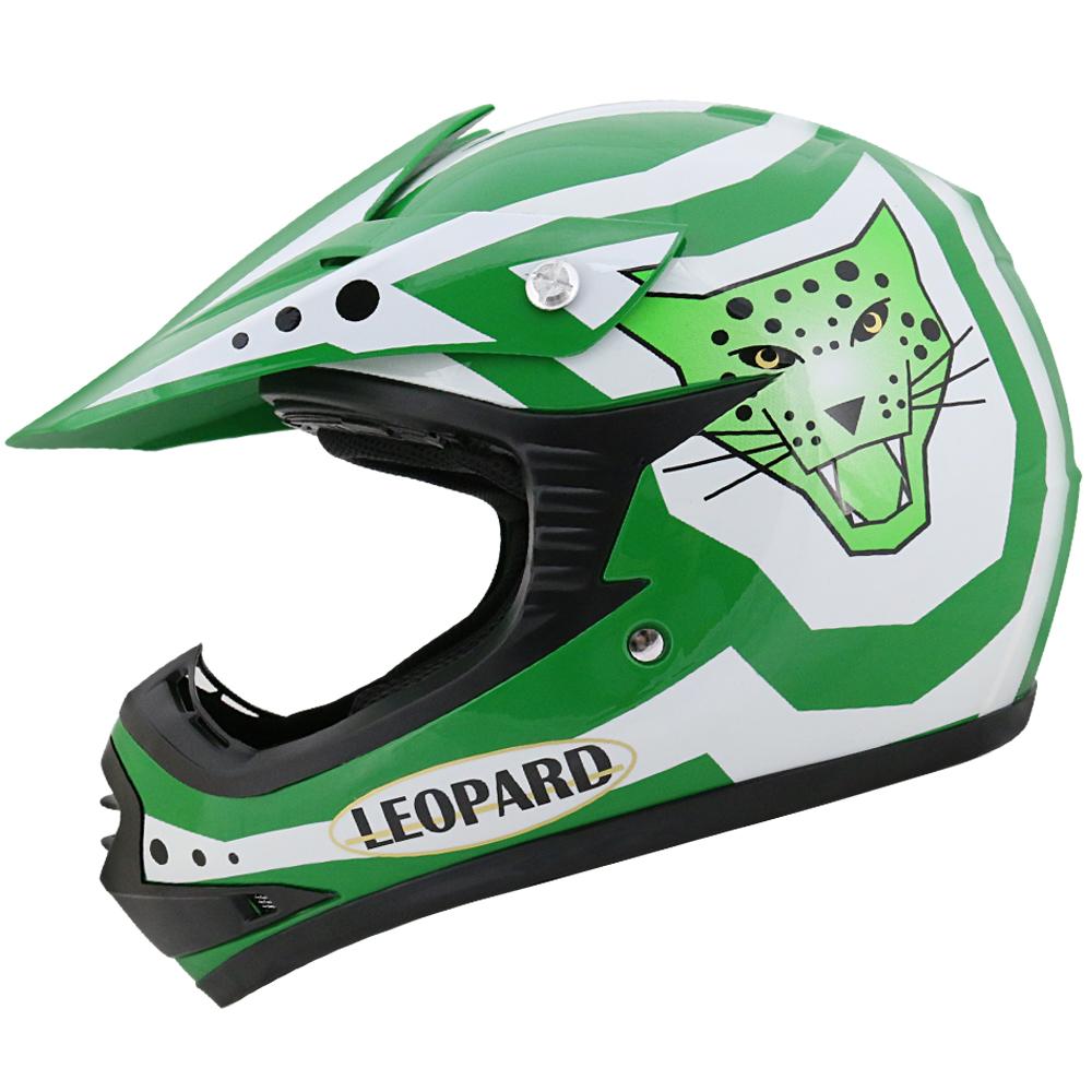 leopard leo x17 kinder crosshelm motorradhelm motocross. Black Bedroom Furniture Sets. Home Design Ideas