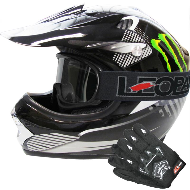 leopard leo x18 kinder motorradhelm motocross helm. Black Bedroom Furniture Sets. Home Design Ideas