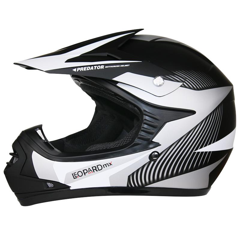 leopard kinder motocross helm motorrad handschuhe bmx off. Black Bedroom Furniture Sets. Home Design Ideas