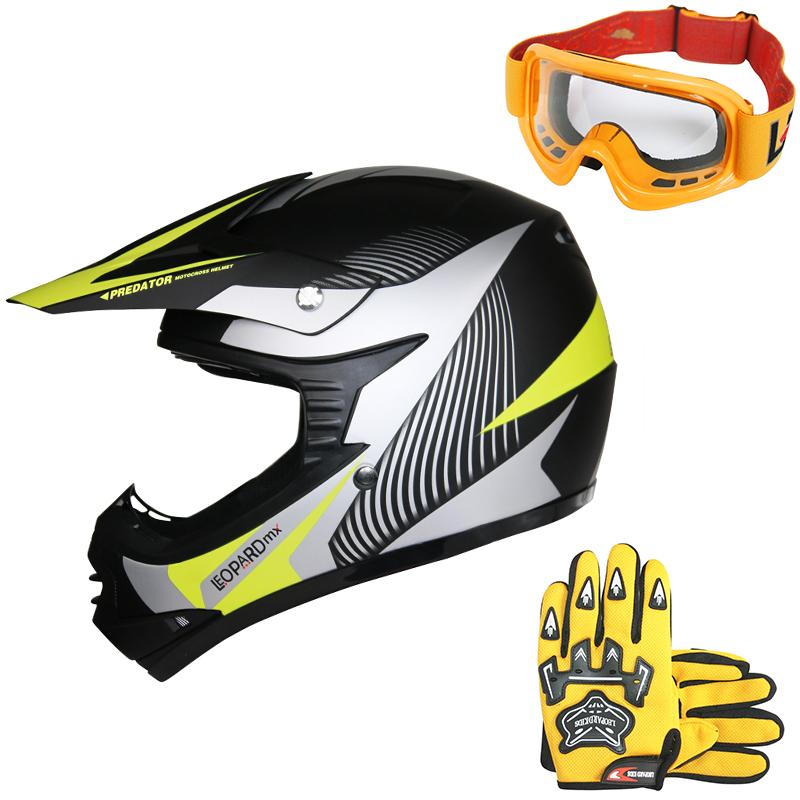 Leopard Adult /& Kids MX Motocross Goggles Dirty Bike Quad Motorcycle Motorbike Goggles
