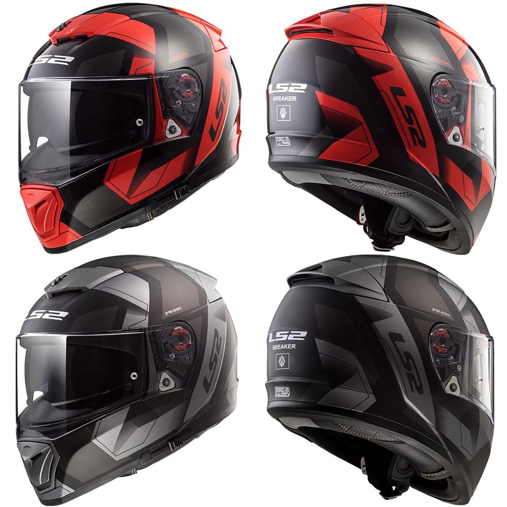 d3f158c1 Details about LS2 FF390 Breaker Phycics Full Face DVS Motorbike Motorcycle  Helmet Crash Lid