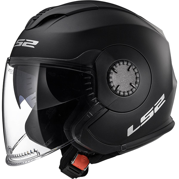 LS2-OF570-VERSO-SOLID-Casque-Moto-Casque-Jet-Double-Visiere-Solid-Blanc