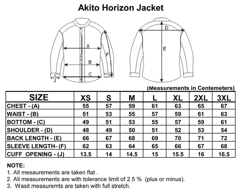 Akito Horizon Scooter Textile Waterproof Motorcycle ...
