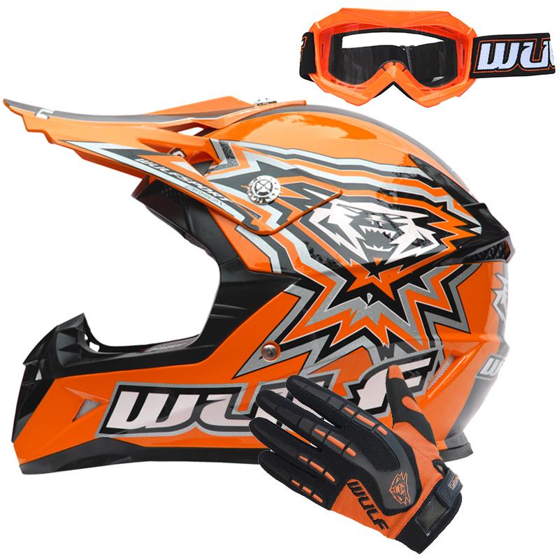 wulfsport flite kinder moto cross helm motorradhelm mit handschuhe brille quad ebay. Black Bedroom Furniture Sets. Home Design Ideas