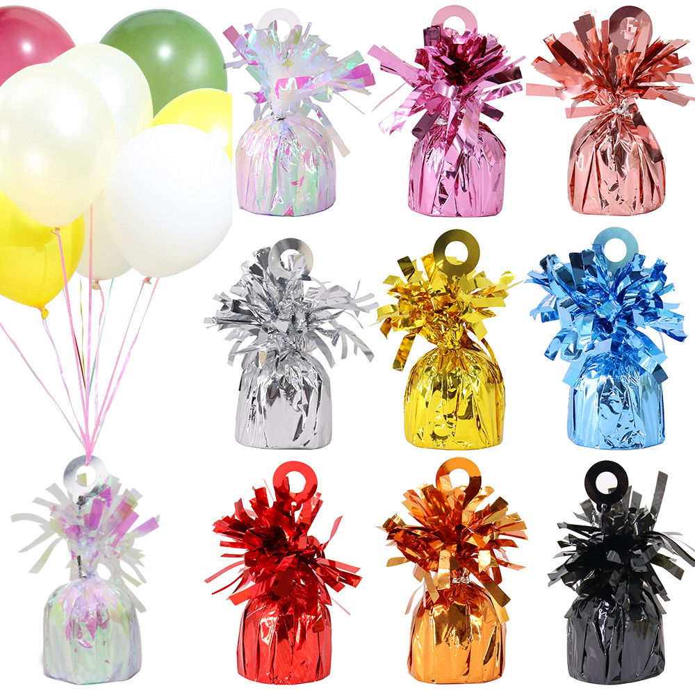 Rose Gold Foil Balloon Weight Helium Weights Wedding Party Decorations