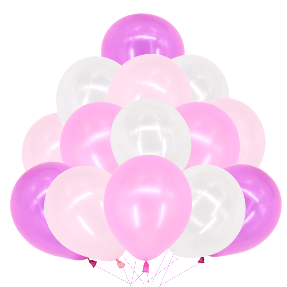 """Details about  /50PCS HELIUM Pearlised Latex Balloons 10/"""" 12/"""" Wedding Birthday Party CHRISTENING"""
