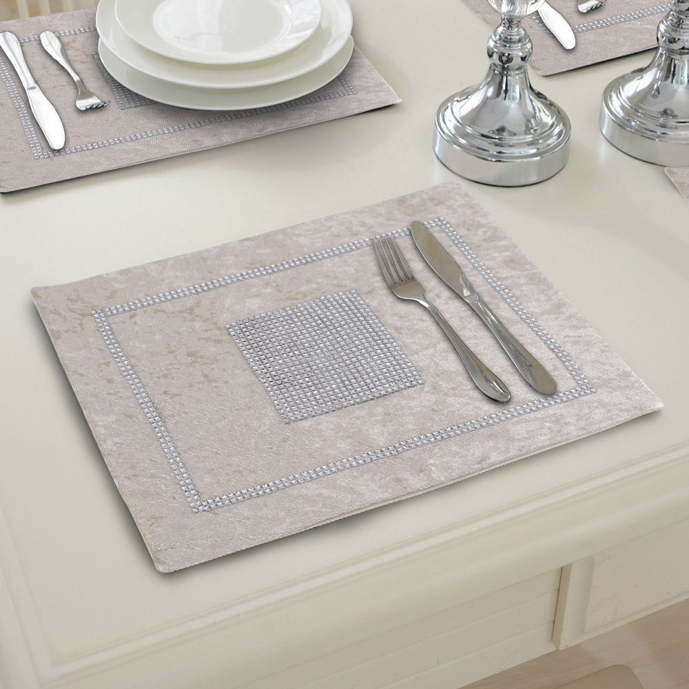 Dining Room Table Placemats: Dining Room Table Place Mats Velvet Placemats Table Bed