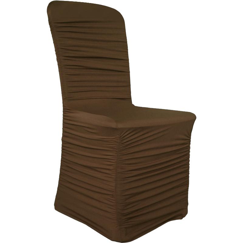 Housse de chaise lycra spandex ruch haut de gamme mariage for Housse chaise lycra
