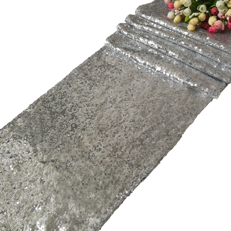 12 Quot X108 Quot Gold Silver Glitter Sequin Table Runner Sparkly